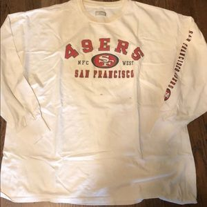 Vintage 49ers T-shirt XL Long Sleeve T-shirt